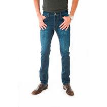 Pantalon Jeans Skinny Fit - Azul Escuro Cod: 200-2015