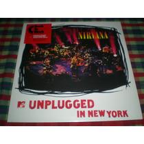 Nirvana  Unplugged In New York  Lp Vinilo Nuevo Made In Eu