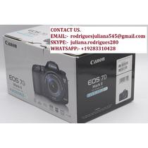 Canon Eos 7d Mark Ii Cámara + 15-85mm Lente