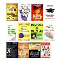 Mega Lote 11 Bibliotecas +3.000 Libros Educación Financiera!