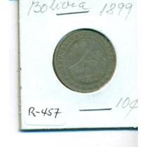 Moneda De Niquel Cuño Paris De 10 Centavos Año 1899