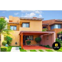 Linda Y Amplia Casa De 4 Dorms En Condominio La Hacienda I
