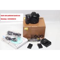Nikon D600 24.3mp Digital Slr Camera