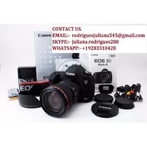 Canon Eos 5d Mark Iii Cámara + 24-105mm Lente