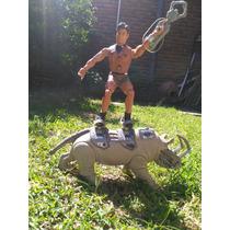 Juguete Max Steal Con Rinoceronte