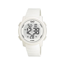 Reloj Q&q C/luz, Cronómetro, Alarma Y Calendario Model J002y