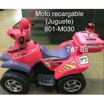 Motos Electricas Recargables Para Niños