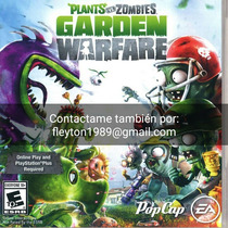 Plantas Vs Zombies Juego Ps3 Digital Paypal Bitcoin