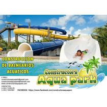 Lider En Proyectos Y Construccion De Parques Acuaticos.
