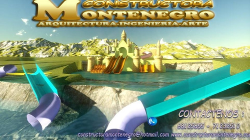 Constructora Montenegro, Parques, Piscina Y Juegos Tematicos